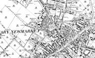 1896 Map of Newmarket